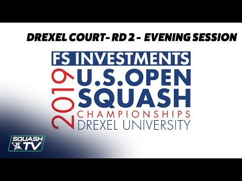 U.S. Open 2019 - Rd 2 Evening Session - Drexel Court
