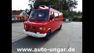 Youtube-Video Mercedes 310 TSF Feuerwehr Benzin Typ 602 KA Bachert
