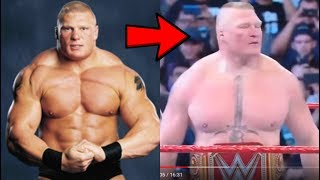Why has Brock Lesnar been losing all his Muscle?