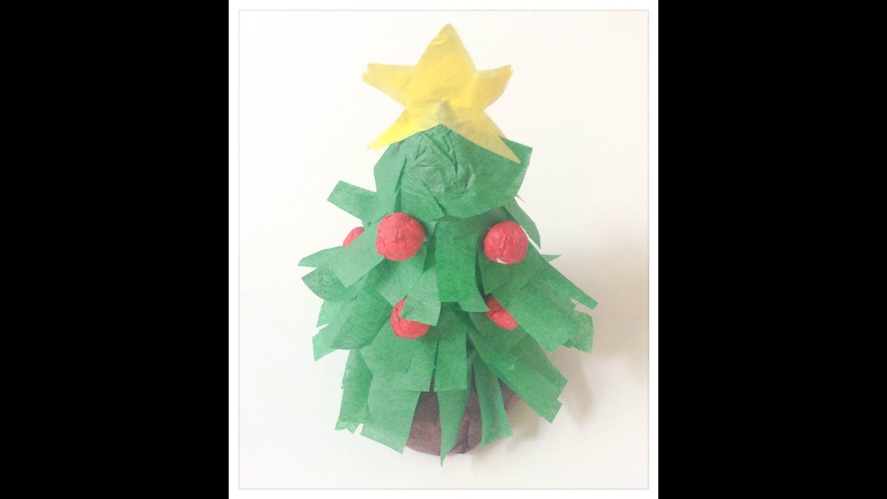 Fabriquer Sapin De Noel En Papier diy: fabriquer un sapin de noël en papier. paper christmas tree