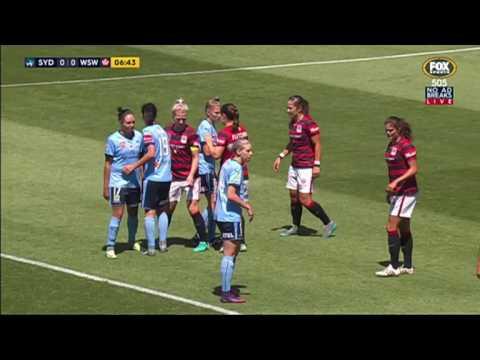 W-League Sydney FC v Western Sydney Wanderers 1st Half (13/11/16)