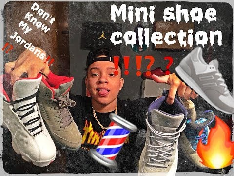MINI SNEAKER COLLECTION !!