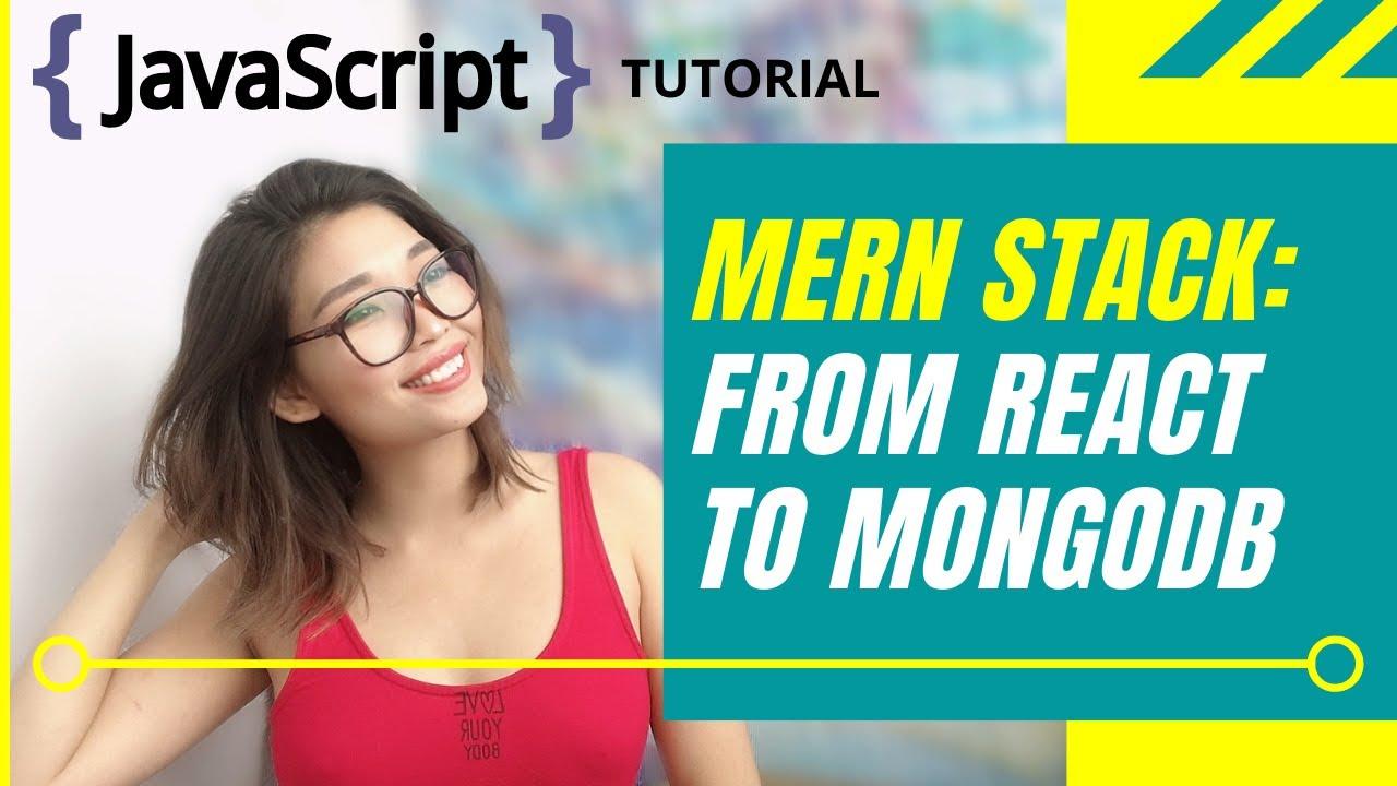 Pass data between React UI and MongoDB Atlas | MERN Tutorial