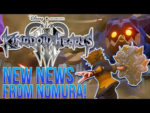 Kingdom Hearts 3 News - Nomura Talks About New Image With Details!