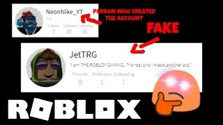 SOMEONE IS IMPERSONATING ME?! [ROBLOX Discussion]