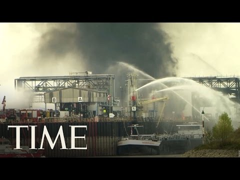Massive Chemical Facility Explosion in Germany | TIME