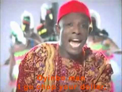 I Go Chop Your Dollar With lyrics Subtitles 419 Nigerian Scam Song