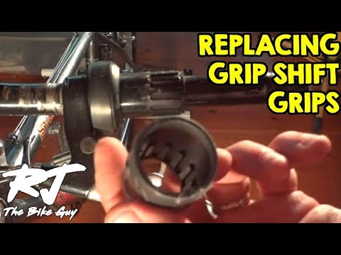 How To Replace Grip Shift Shifter Grips And Covers Youtube