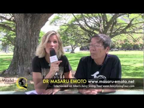 Dr Emoto: water messager of God, DNA and new era