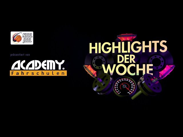 ACADEMY Highlights - NBBL/JBBL TOP4 2019