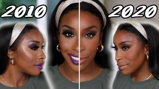 2010 Makeup Vs 2020 Makeup!  | Jackie Aina