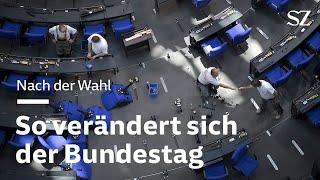Nach der Wahl: So verändert sich der Bundestag