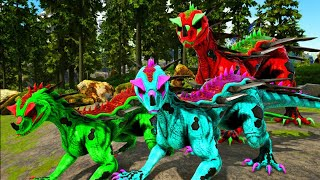 FOMOS ADOTADOS POR UM ROYA DRAKE ASSASSINO! Ark Survival Evolved Canal da Lety