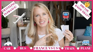Transportation in France: My travel life completely changed when I left the USA!