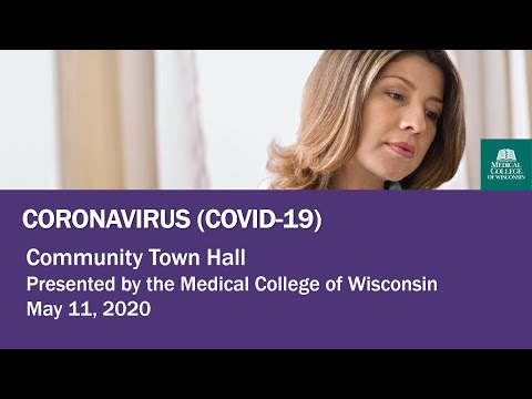 MCW Community Town Hall May 11, 2020