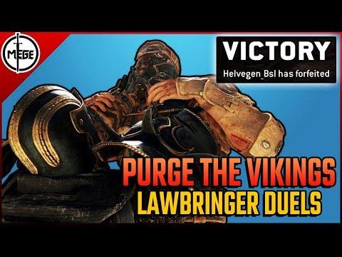 PURGE THE VIKINGS! - Lawbringer Duels [For Honor]