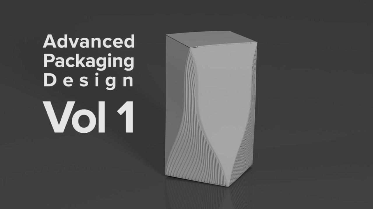 Advanced Packaging Design in Cinema 4D
