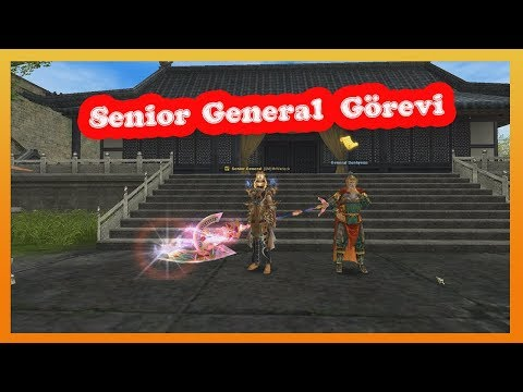SENİOR GENERAL (105 LVL) ZERK GÖREVİ