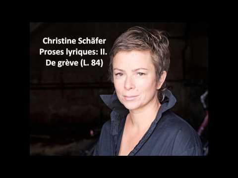 Christine Schäfer: The complete