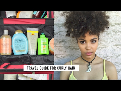 7 CURLY HAIR TRAVEL TIPS
