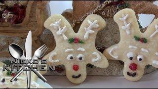 Reindeer Cookies - Christmas Recipe