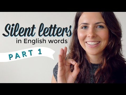 Silent Letters | English Pronunciation & Vocabulary | PART 1
