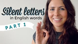 Silent Letters | English Pronunciation & Vocabulary | PART 1