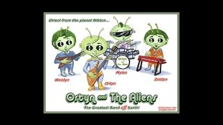 """Our Yankee Doodle Presidents"" - Ortyn & The Aliens"