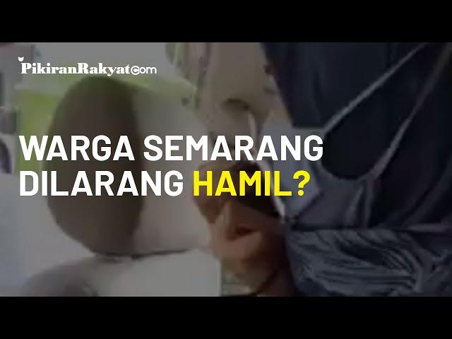 Imbauan Kawin Boleh Hamil Jangan, Dinkes Semarang Minta Maaf