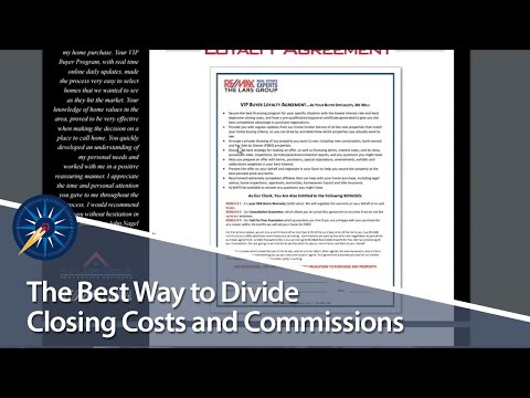 The Best Way to Divide Closing Costs and Commissions