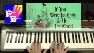 piano busker - If You Were The Only Girl In The World 1916