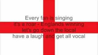 Tony Christie - is this the way to the world cup with lyrics
