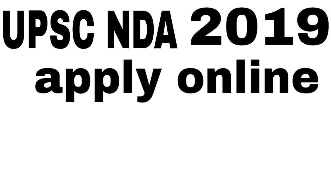 How to NDA 2019: Application Form, Exam Date, Eligibility