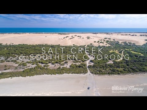 Murray River Bird Aerial Video - Salt Creek & Southern Coorong - Discover Murray River