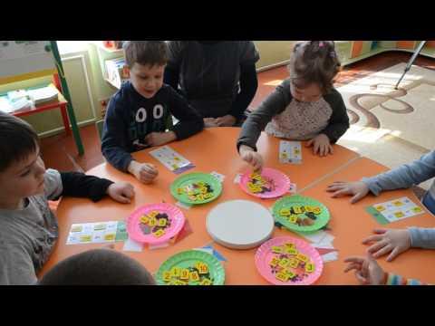 Дидактическая игра по математике Склад числа Детский сад Старшая группа