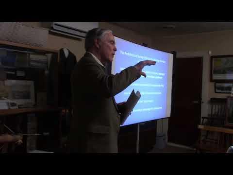 Architectural Survey Training Introduction Chris Closs