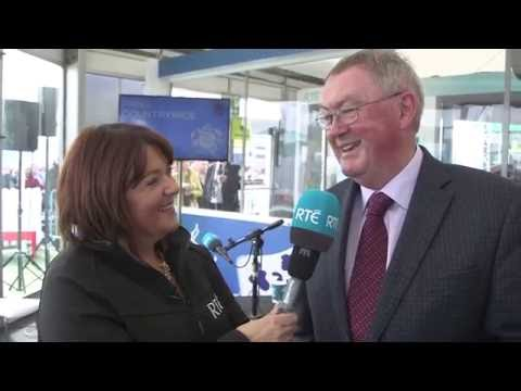 Brenda talks to Sean O'Rourke | RTÉ at the National Ploughing Championships 2016