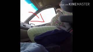 Video ora ng melahirkan di mobil, kasihan banget