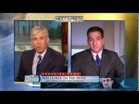 Greenwald on Meet The Press re Snowden NSA Prism Surveillance programs 6-23-13 David Gregory