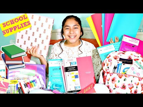 HUGE Back to School Supplies Haul-Back to School Shopping!!! B2cutecupcakes