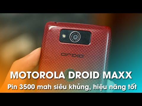 MOTOROLA DROID MAXX 99% giá 3.99tr: Máy Bền, Pin Trâu