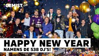 Dit zijn de nieuwjaarswensen van de 538 dj's! | 2020