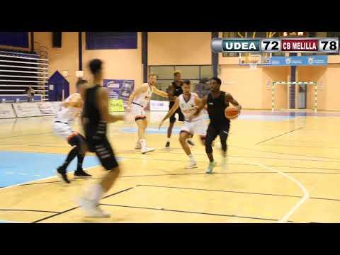 Baloncesto ENERDRINK UDEA ALGECIRAS CB MELILLA pretemporada