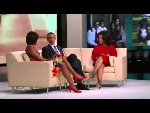 The oprah winfrey show, Barack Obama shows birth certificate on Oprah Winfrey Show HQ