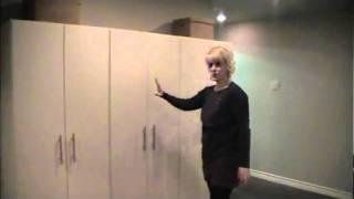 Basement Reno # 2 Flooring, Paint And Storage Cabinets