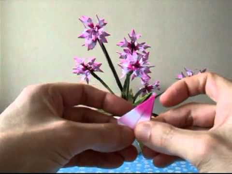lam hoa bang giay