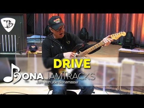"Bona Jam Tracks - ""Drive"" Official Joe Bonamassa Guitar Backing Track in E Minor"