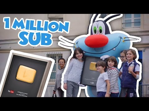 Oggy and the Cockroaches ???? 1 MILLION Subscribers ???? #THANKS