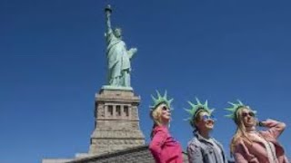 Ellis island to go statue of liberty New York and museum with ferry ride