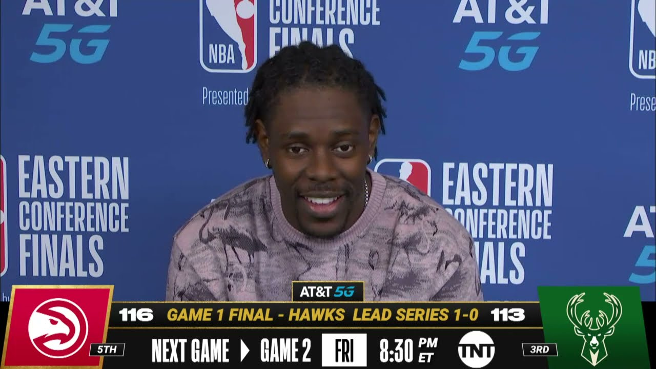 Jrue Holiday on his Game 1 Performance   Postgame Press Conference